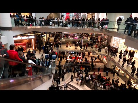 Toronto Eaton Centre Boxing Day Shopping Toronto's Top Tourist Attraction