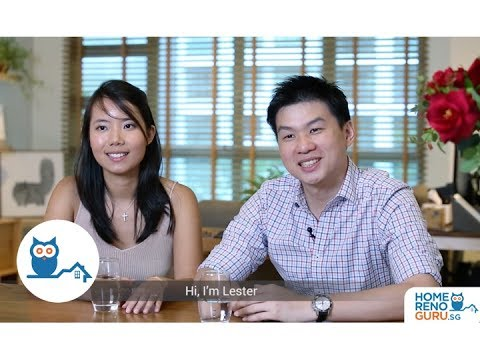 Dream Home of Lester & Sharon - Posh Living Interior Design【HomeRenoGuru.sg】
