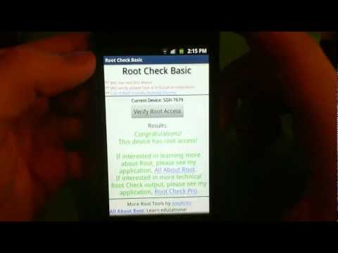 How to Root the Samsung Exhibit II 4G