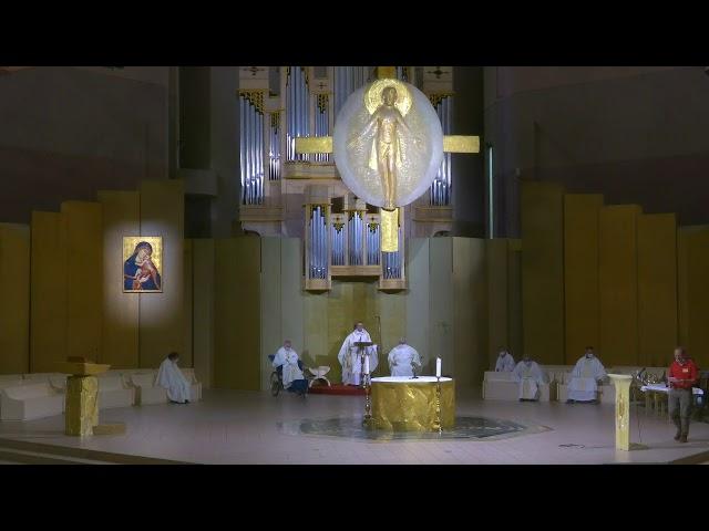 Célébration d'envoi pèlerinage de Valence en direct de Lourdes, le 29/07/21