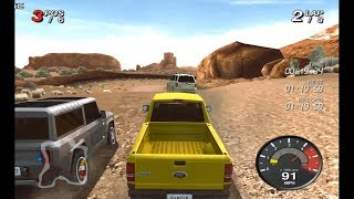 Ford Racing Off Road /4x4 Truck Racing Games / Nintendo Wii Edition Gameplay FHD