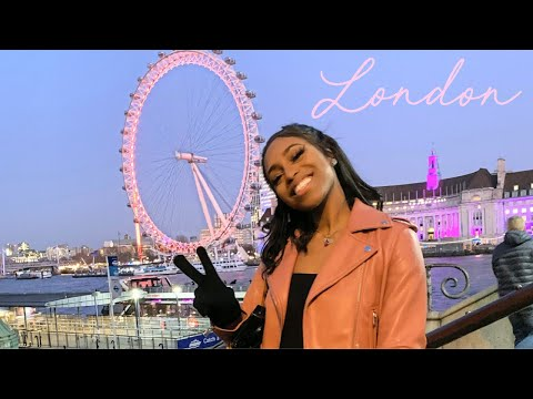LETS GO TO LONDON! TRAVEL VLOG