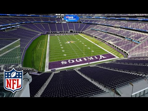 Tour the Vikings New U.S. Bank Stadium with Chad Greenway & Kyle Rudolph  | NFL