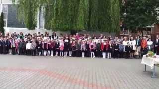 Выпускная линейка 11 Б класса 2014 (Школа №3 г Кобрин)