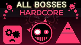 Just Shapes & Beats - Hardcore - All Bosses (S Rank)