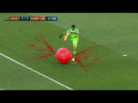Strange Things Thrown On A Football Field
