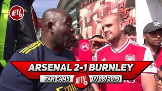 Arsenal 2-1 Burnley   I'd Pay Real Madrid £60m For Ceballos Now! (Johnny)