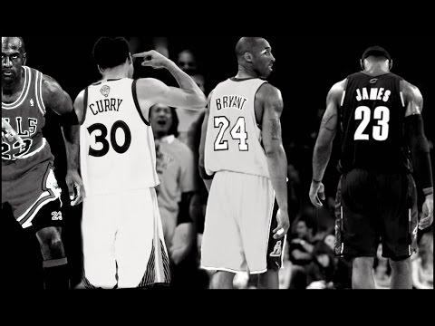 Michael Jordan Vs Kobe ,LeBron and Curry HD