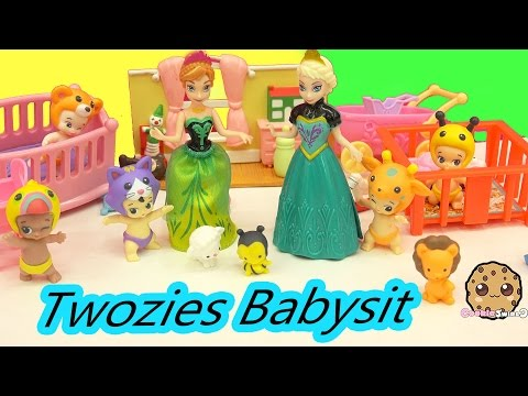 Disney Frozen Princess Anna Babysits 6 Babies - Twozies To-gether 12 Pack with 5 Surprise Blind Bags