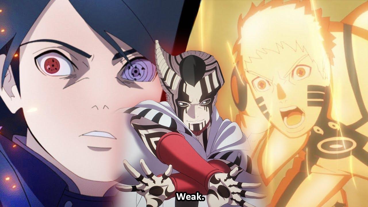 Boruto BLEW EVERYONE'S MIND – Naruto and Sasuke vs Jigen - Boruto Episode 204 LIVE REACTION