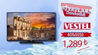 Vestel LED TV'lerde FİYATLARI DONDURDUK.
