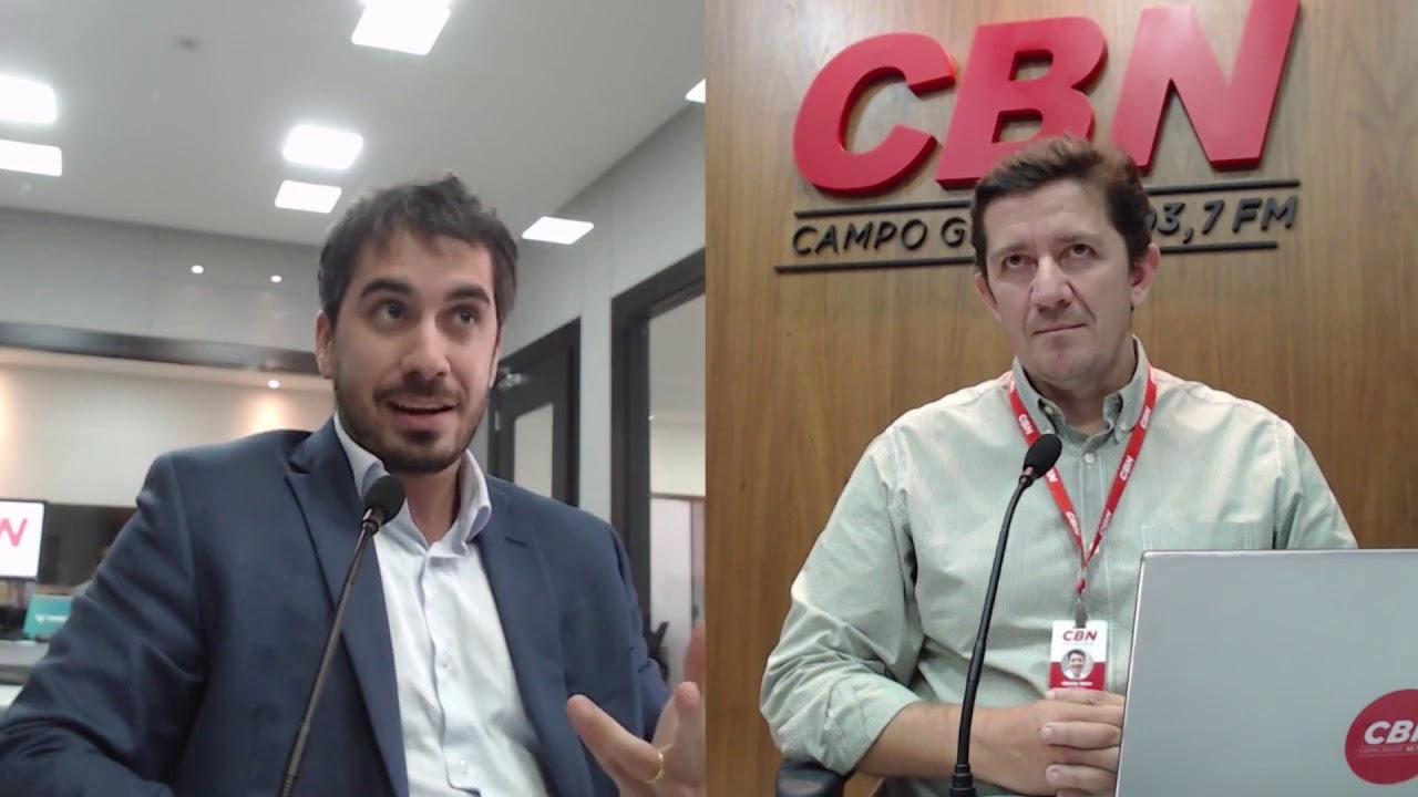 Entrevista CBN Campo Grande: Flávio Garcia Cabral - Procurador da Fazenda Nacional