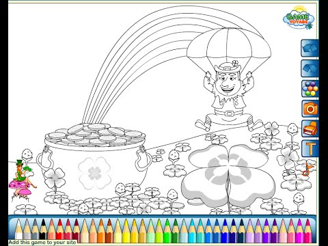 St Patricks Day Coloring Pages For Kids
