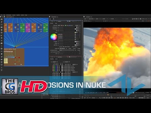 "CGI 3D & VFX Tutorials: ""Compositing Aerial Explosions in Nuke"" - by ActionVFX"
