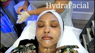 MY FIRST FACIAL ...EVER.| Chinutay A.