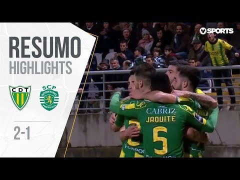 Highlights | Resumo: Tondela 2-1 Sporting (Liga 18/19 #16)