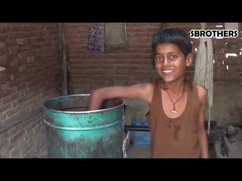 देखिये गाँव में कैसे निकालते हैं सरसों का तेल |  Amazing Mustard oil machine In India | Food Tv