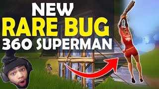 NEW RARE BUG | 360 SUPERMAN | HIGH KILL FUNNY GAME - (Fortnite Battle Royale)