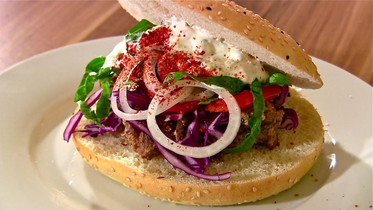 Kebab-Döner Kebab Selber Machen Mit Kebab Sauce-Türkisches