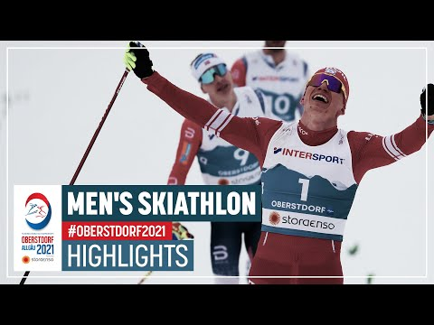 Bolshunov bags his first gold | Men's Skiathlon | 2021 FIS Nordic World Ski Championships