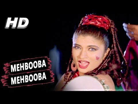 Mehbooba Mehbooba | Sonu Nigam | Shera 1999 HD Songs | Gulshan Grover