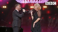 A legendary performance by Gary Barlow and Agnetha Fältskog's at Children In Need Rocks - BBC