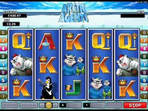 Arctic Agents Casino 5 Reel