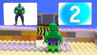 Transformers LEGO Cars experemental Optimus Prime, Iron Man, Hulk! truck car Marvel Superheroes toys