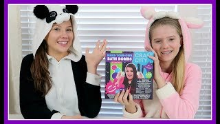 TRYING KARINA GARCIAS BATH BOMB KIT    DIY BATH BOMBS    Taylor and Vanessa