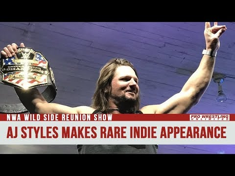 AJ Styles Makes Rare Indie Wrestling Appearance (VIDEO)