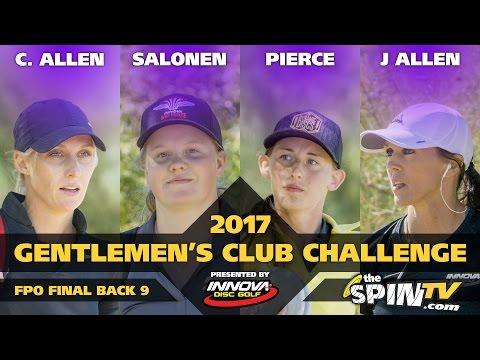 2017 Gentlemen's Club Challenge Presented By Innova - FPO Final Round, Back 9