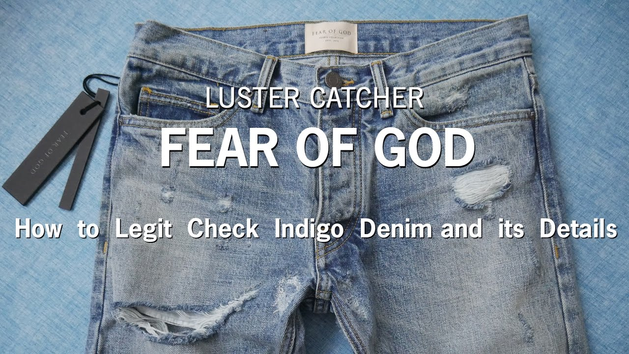 how to distress jeans like fear of god