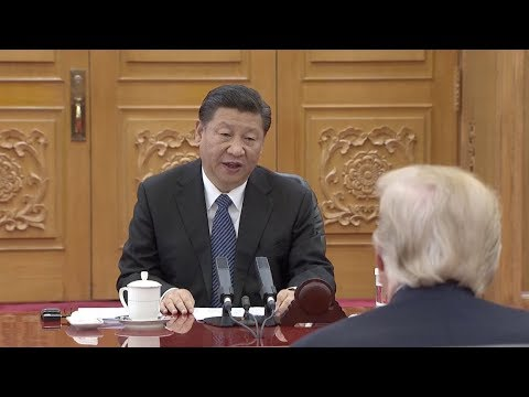 President Xi Jinping Holds Talks with Trump
