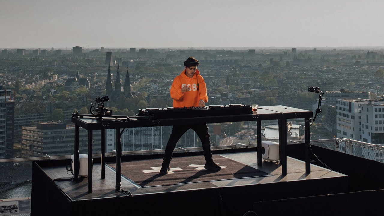 MARTIN GARRIX LIVE @ 538 KINGSDAY FROM THE TOP OF A'DAM TOWER ...