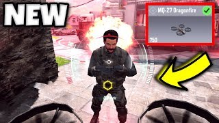 "*NEW* Drone Killstreak in Call of Duty Mobile!! | ""MQ-27 Dragonfire"" in Call of Duty Mobile"