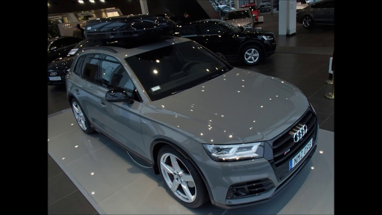2019 Audi A4 >> Quantum gray New Audi SQ5 354 PS |walkaround - YouTube