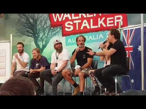 The Walking Dead - Walker Stalker Melbourne Australia Funny Dance off Full Version.