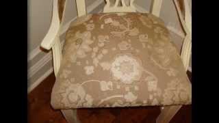 Diy Dining Room Chairs Makeover - Slide Show