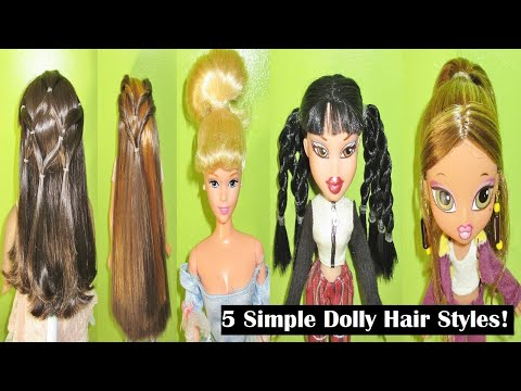 5 Simple Dolly Hairstyles September 2017