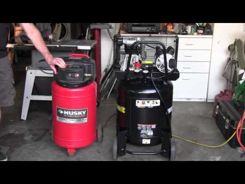 Air compressor sound level noise comparison between b for Air compressor oil vs motor oil