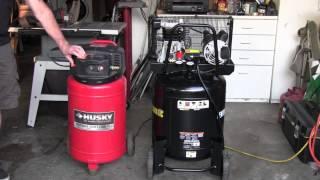 Oil Filled VS Oil Free Air Compressor Noise Comparison