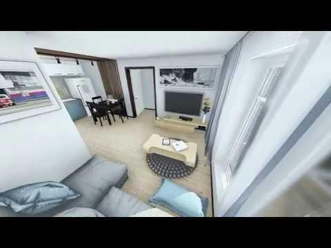 Дуплекс интерьер, видеообзор (Норд элемент)