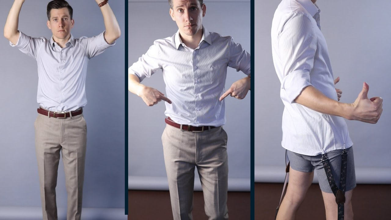 How To Keep Your Shirt Tucked In 3 Different Methods You Can Try