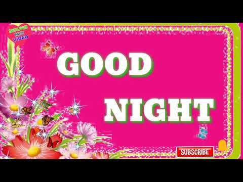 Good Night Status Video 💖🌷 Whatsapp Best Wishes Video Status 🌹🌷 Massage, Greetings, MMS, Status