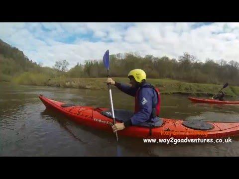 Kayaking the River Wye at Symonds Yat