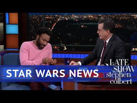 BREAKING : Donald Glover Wears A Cape As 'Lando'