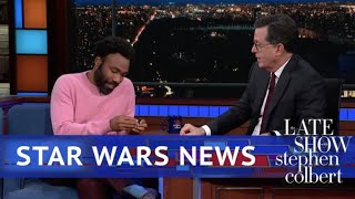 BREAKING NEWS: Donald Glover Wears A Cape As