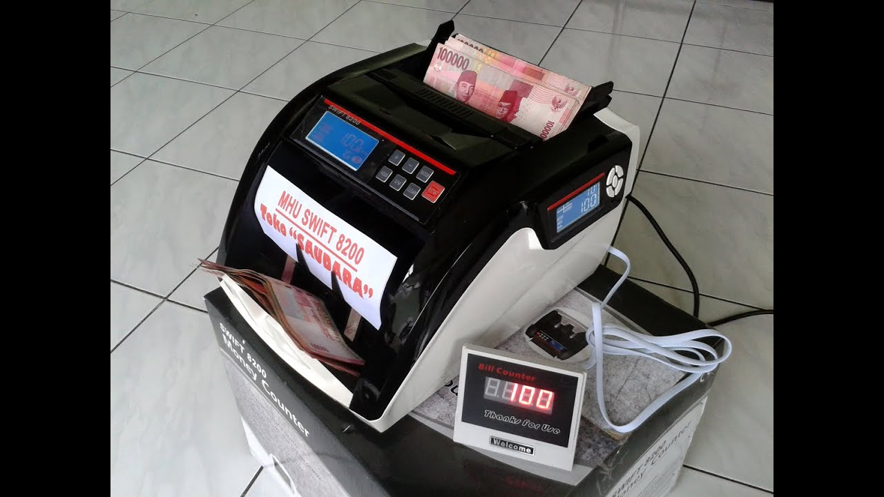 Mesin Hitung Uang Money Counter Secure Ld 22a