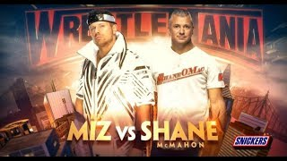 The Miz vs Shane McMahon Promo | WWE Wrestlemania 35