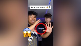 My Friends RATE My Magic Tricks!! - #Shorts